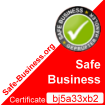 Safe Business Zertifikat